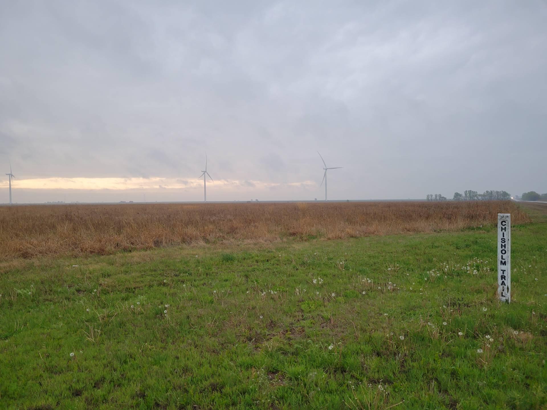 Sub-severe storm near Wakita, Oklahoma. #okwx