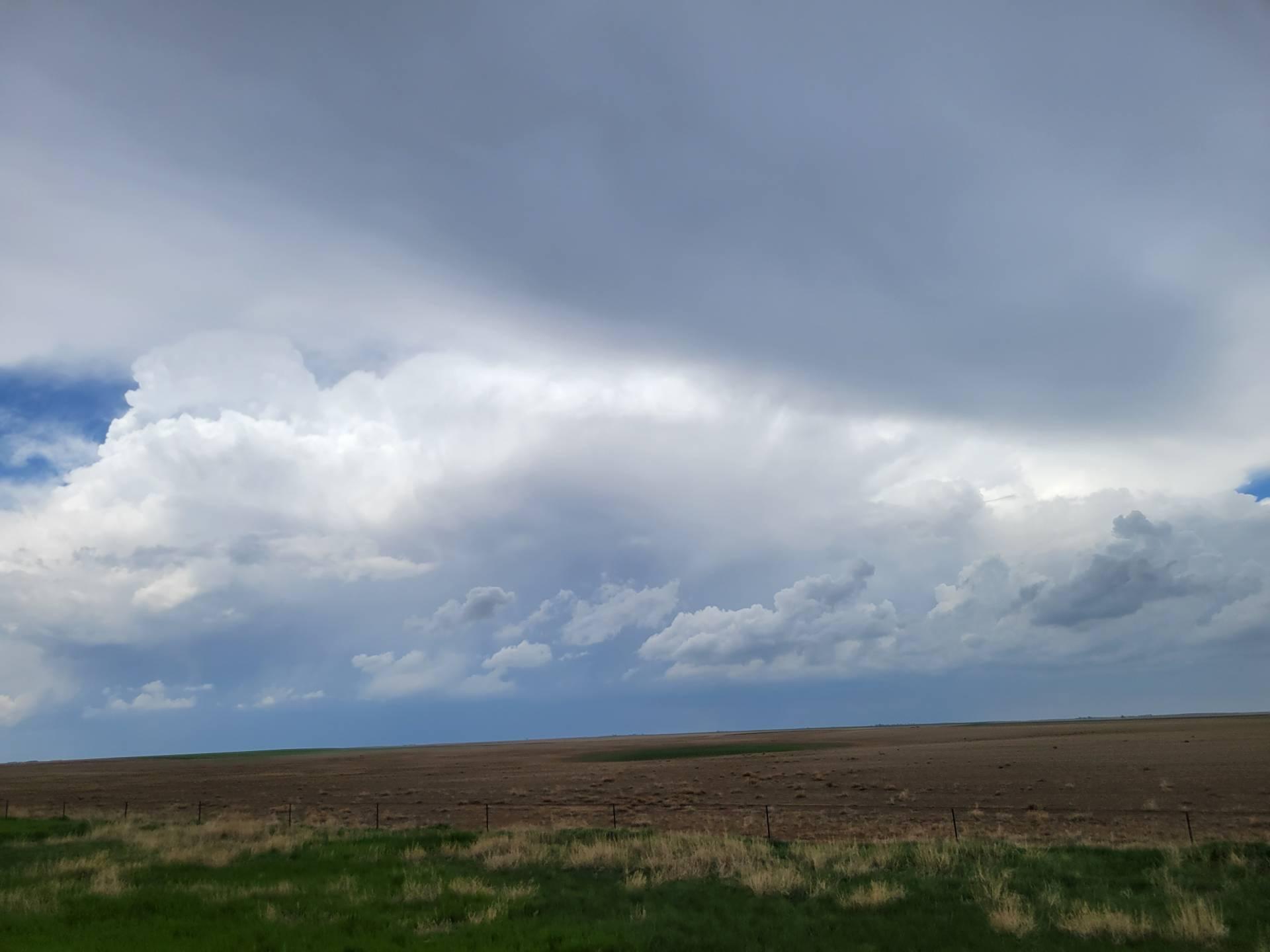 Storms developing over Anton, Colorado. #cowx