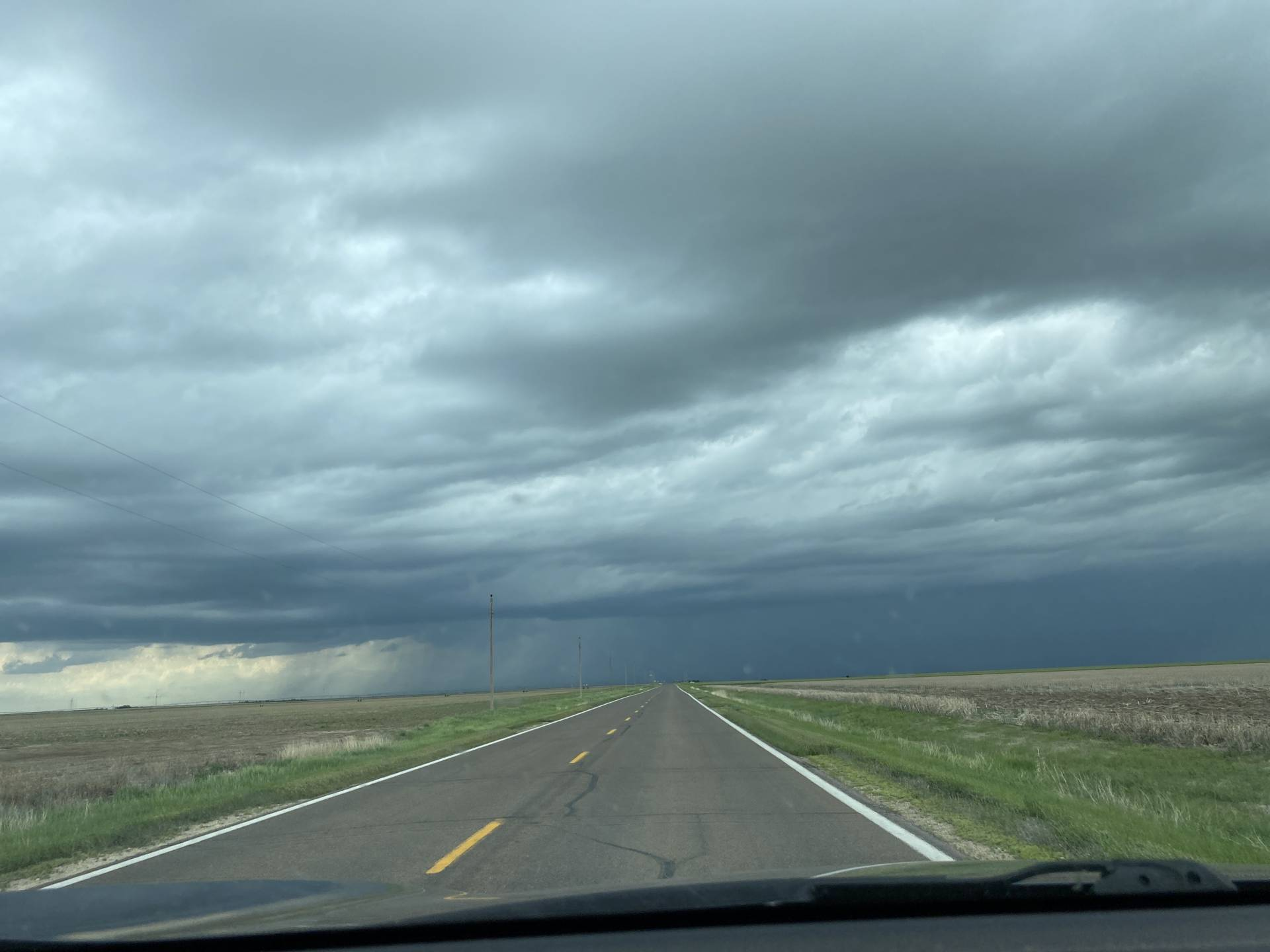 Attempting new development north of Grainfjj iie ld other storms couldn't battle the cap.