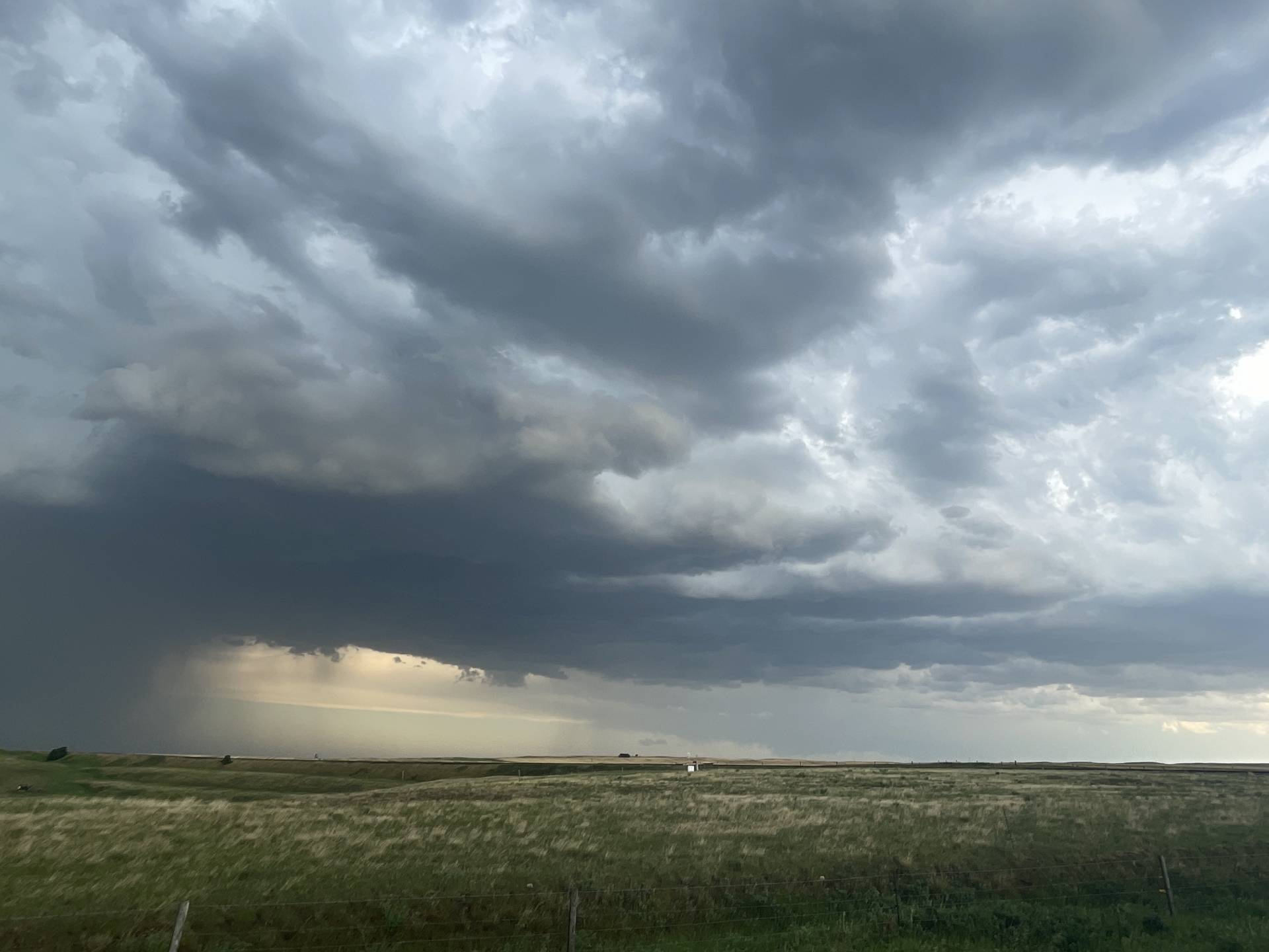 Funnel 5 dissipating south of McGee @648pm