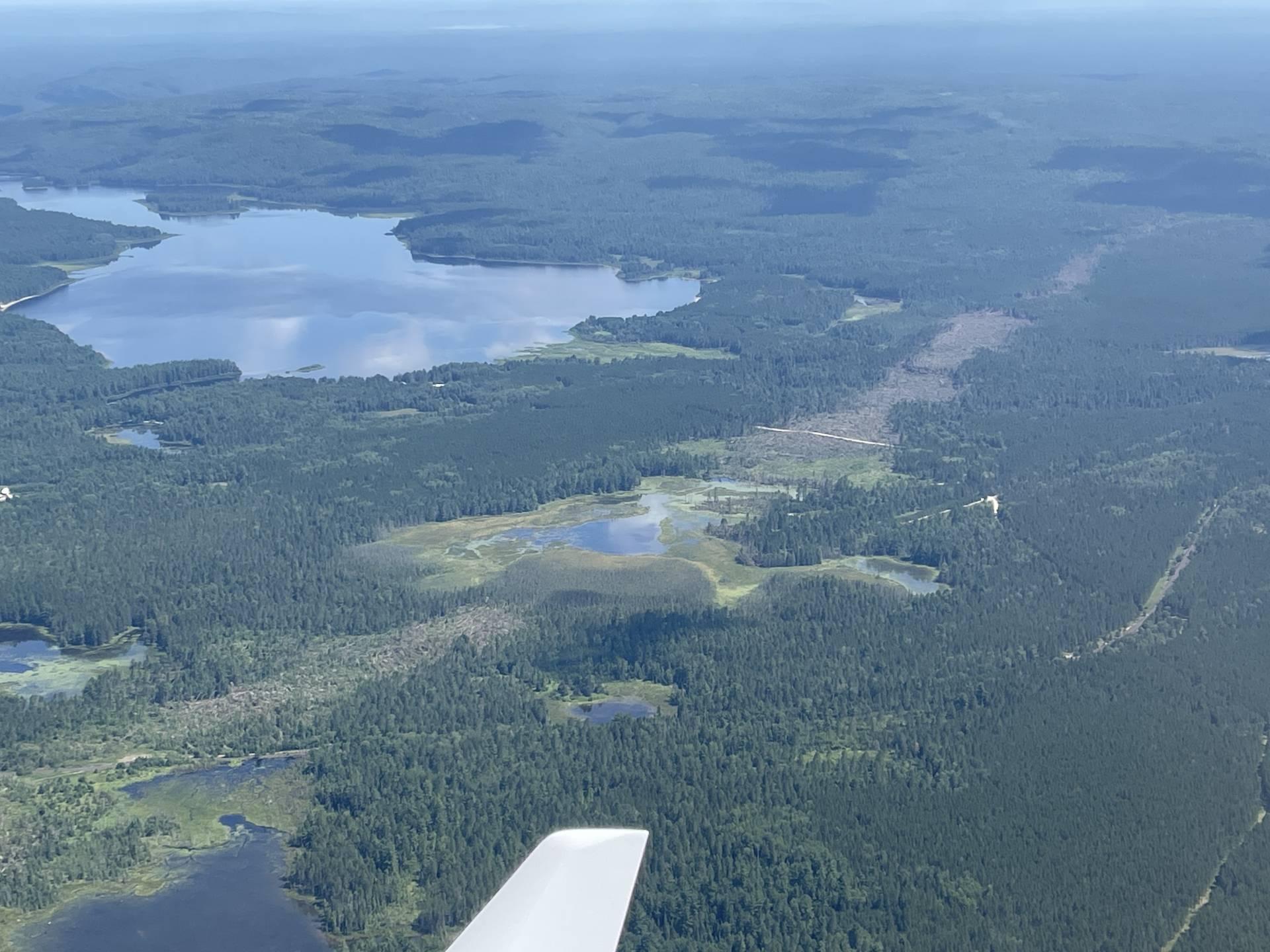 Lake Traverse damage path