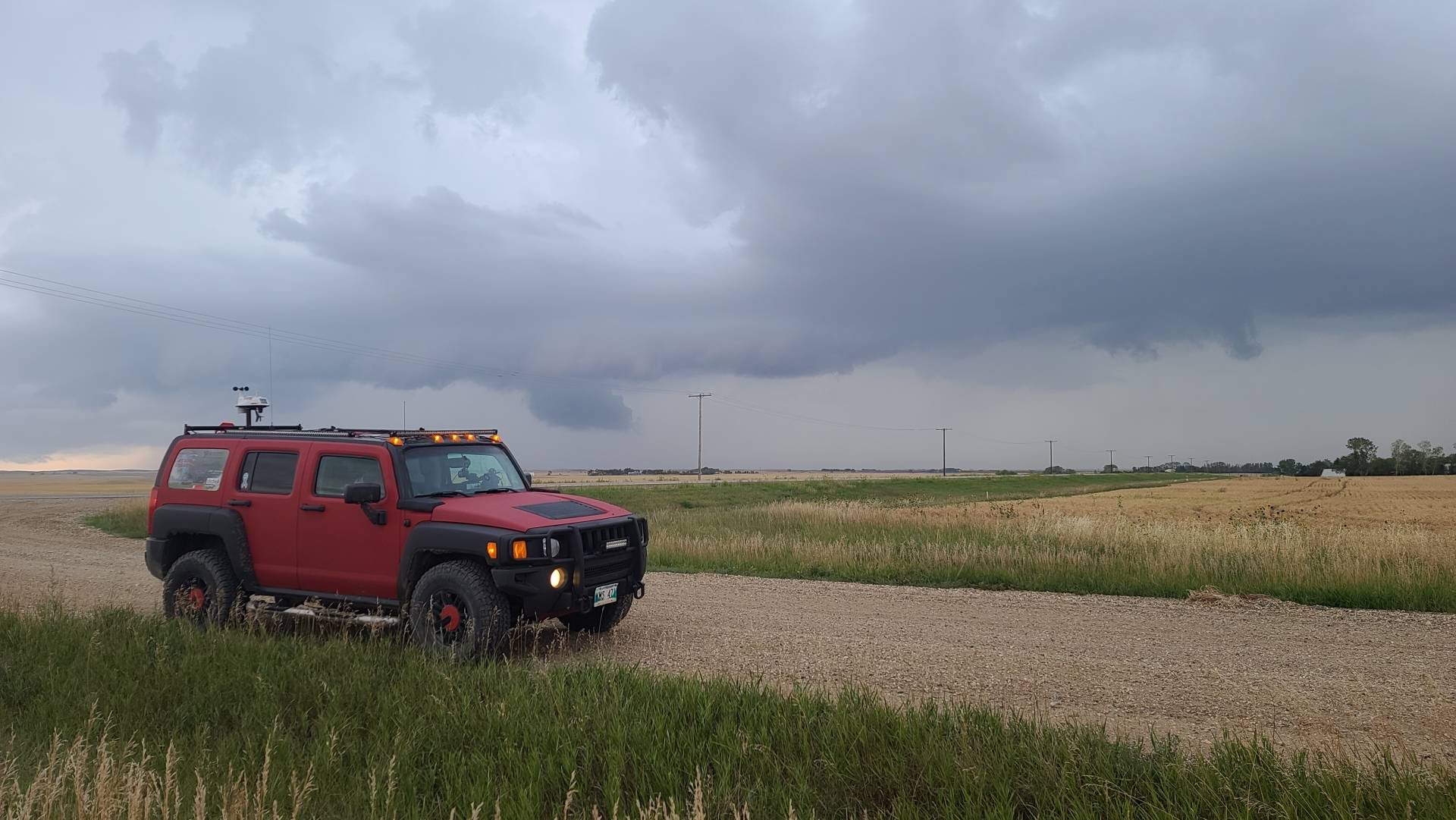 East of Oungre, SK #skstorm