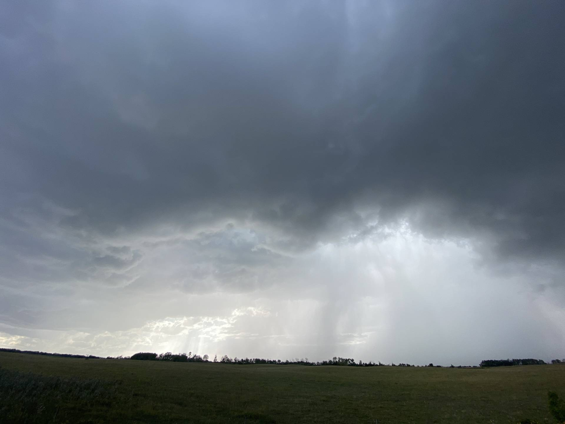 South of Percival Sask. 4:55 pm.