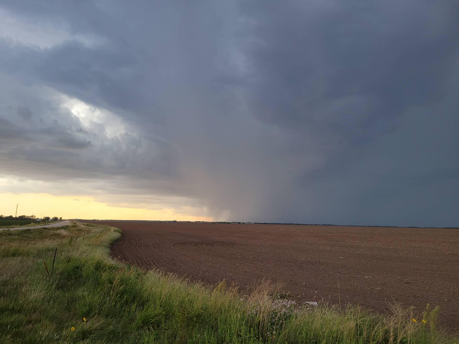 Storm near Milton, Kansas.