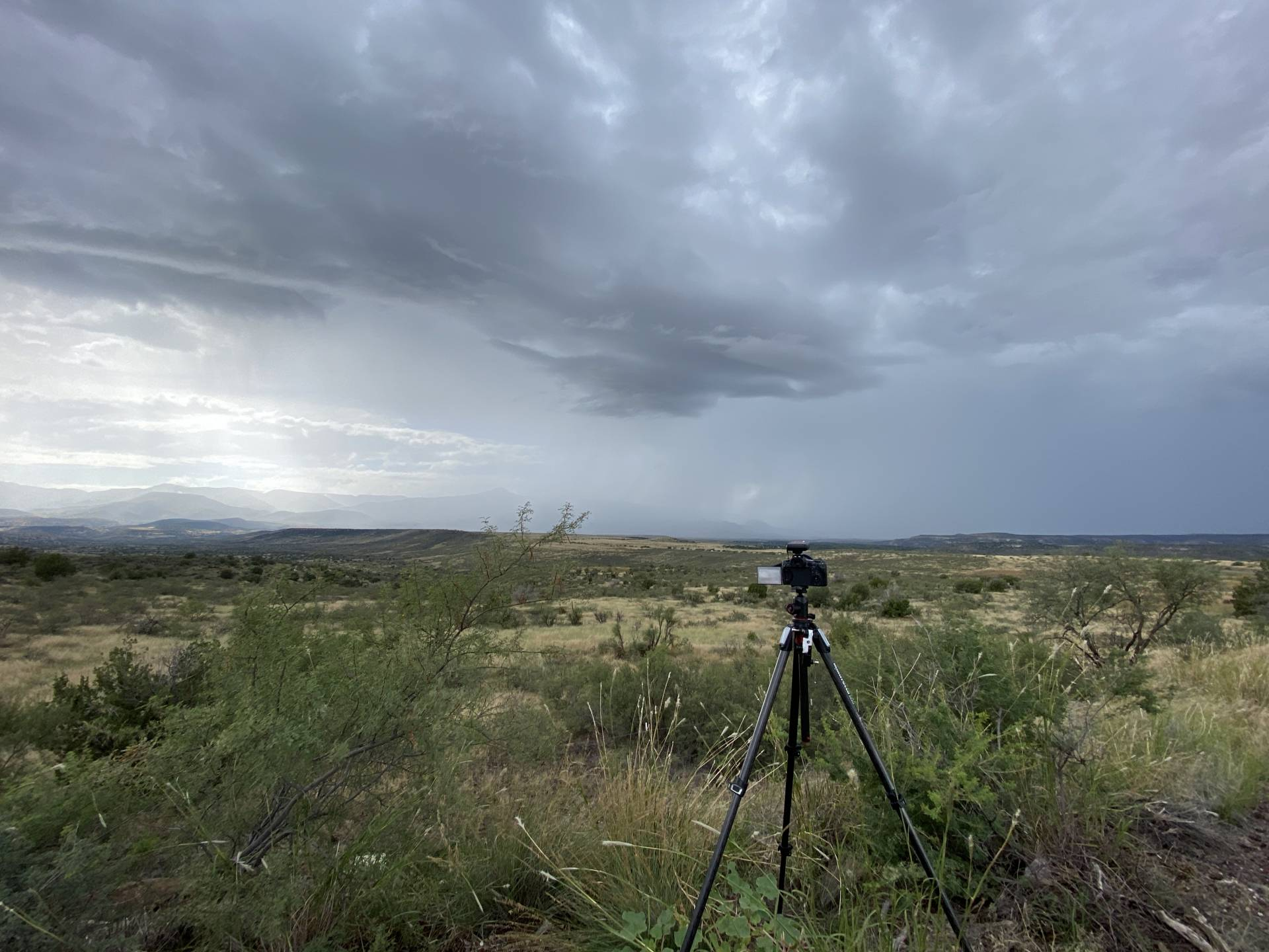 Firing over Verde Valley earlier than I expected. May not see best parameters taken advantage of in my target area. #azwx